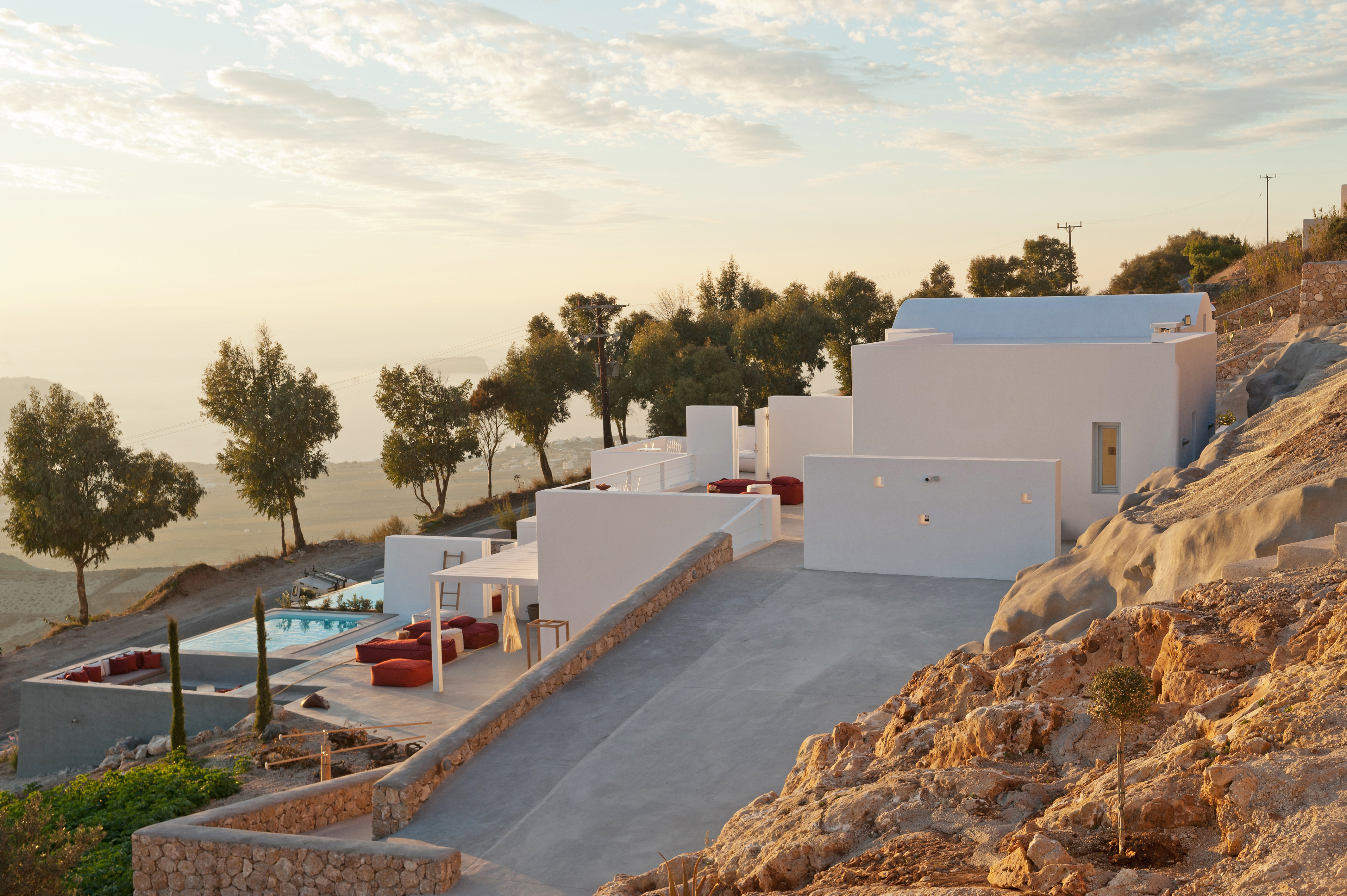 Santorini heights exterior